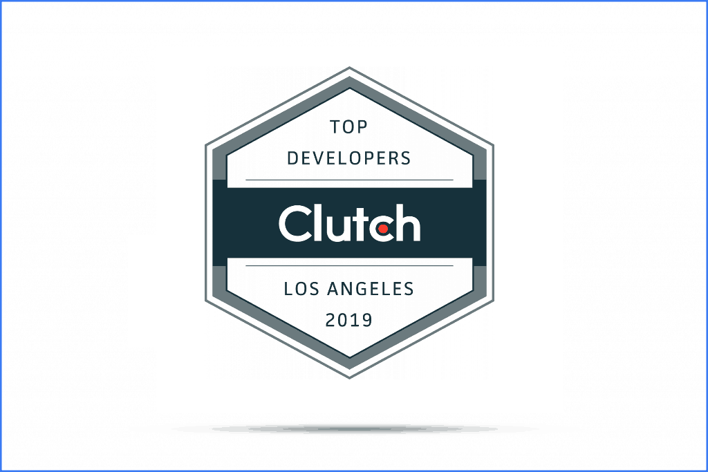 Nextware Top developer accreditation by Clutch