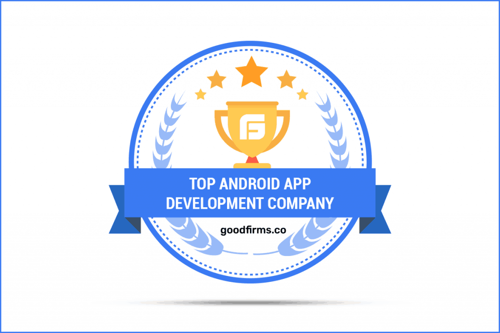 Nextware Top Android App development Company Goodfirms badge