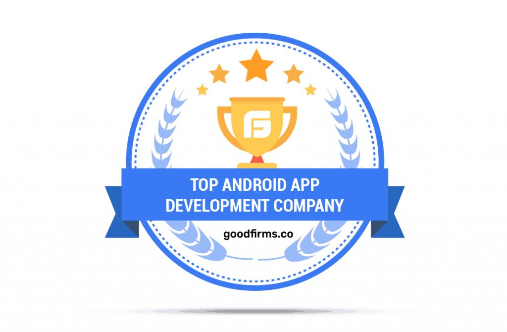 Nextware Top Android App development Company Goodfirms badge